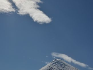 Osorno Volcano – cloud, Dec.2015