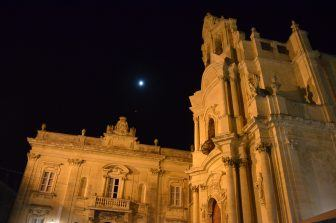 Ragusa at night