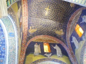 Mausoleum of Galla Placidia – inside 3, Feb.2015