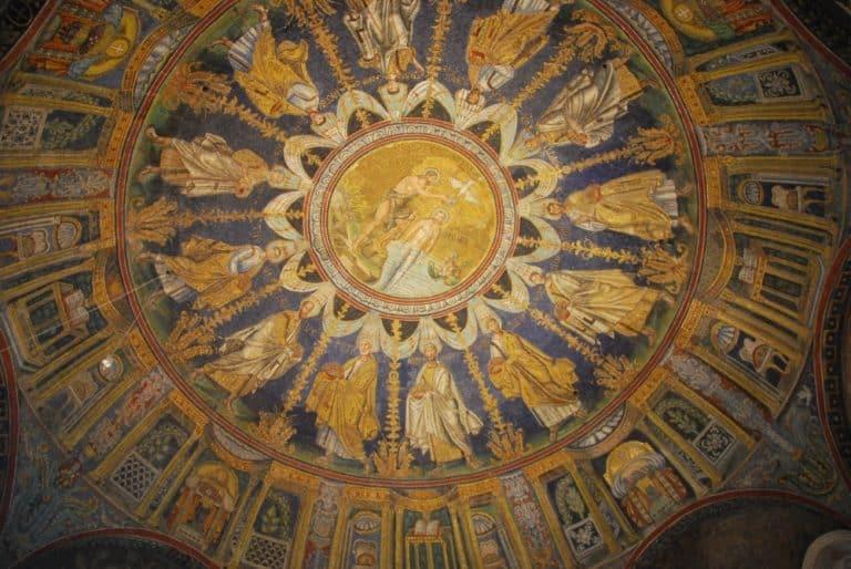 El edificio más antiguo de Ravenna
