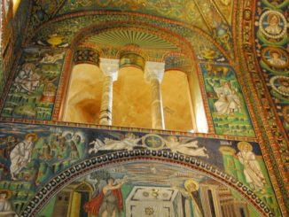 Basilica of San Vitale – inside 5, Feb.2015