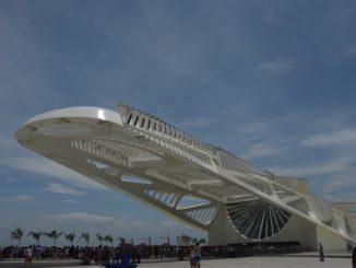 Un museo molto moderno a Rio De Janeiro