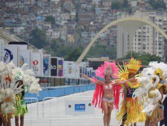 El famoso carnaval se celebra aquí