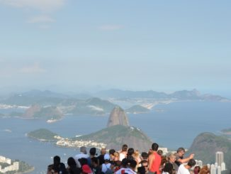 Corcovado – Sugarloaf Mountain and people, Jan.2016
