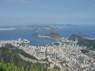 Corcovado – Sugarloaf Mountain and town, Jan.2016