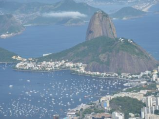 Corcovado – Sugarloaf Mountain and boats, Jan.2016