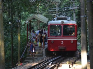 Corcovado – mountain railway, Jan.2016