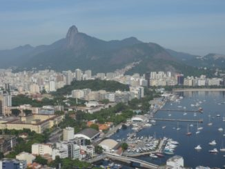 Sugarloaf Mountain – city and Corcovado, Jan.2016