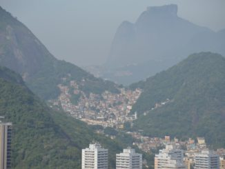 Sugarloaf Mountain – favelas on the hill, Jan.2016