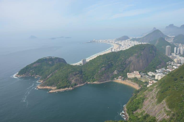 Dal colle Pan di Zucchero ( Rio De Janeiro )