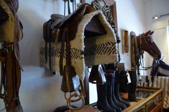 Sella di cavallo in Argentina