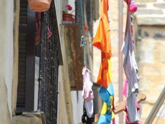 Spain, San Sebastian – washings, May 2014