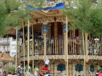 Spain, San Sebastian – carousel, May 2014
