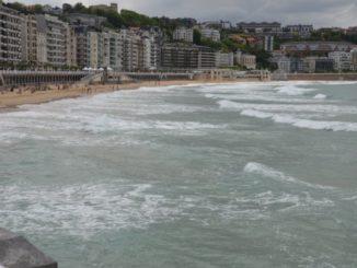 Spain, San Sebastian – beach, May 2014