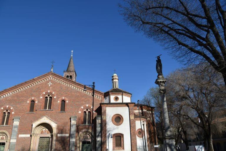 ミラノで見つけた立派な教会