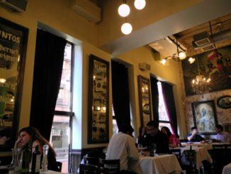 A prima vista un ristorante lussuoso