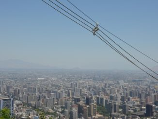 San Cristobal Hill – panorama and wires, Dec.2015