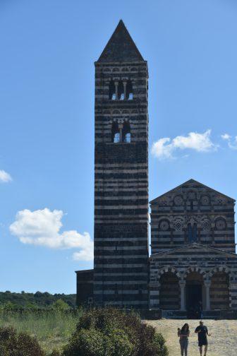 Codrongianos-Basilica di Saccargia-campanile