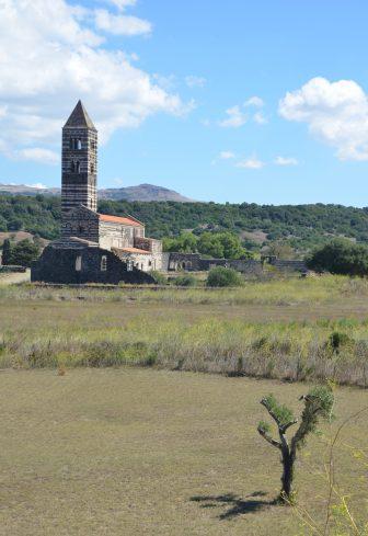 Italy-Sardinia-Codrongianos-Basilica di Saccargia