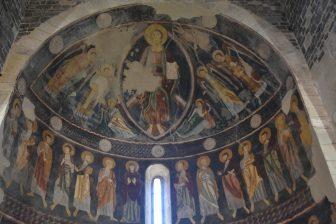 Sardegna-Codrongianos-Basilica di Saccargia-affreschi