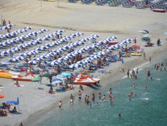 Beach in Scilla