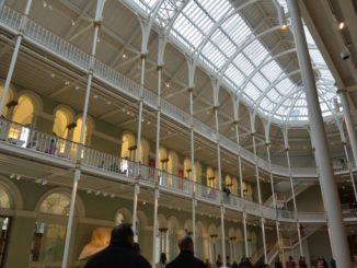 Stylish museum