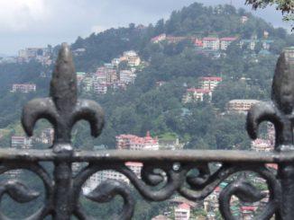 India, Shimla – fence, Sept.2006