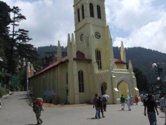 India, Shimla – church, Sept.2006
