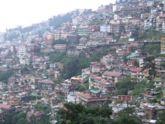 India, Shimla – on the slope, Sept.2006