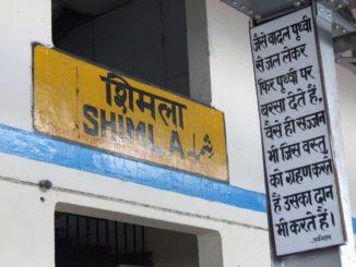 India, Shimla – station, Sept.2006