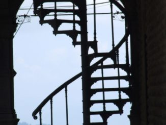India, Shimla – stairs, Sept.2006