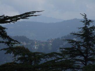 India, Shimla – view, Sept.2006