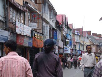 India, Shimla – people, Sept.2006