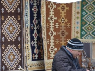 Romania, Sinaia – rugs, Apr. 2014