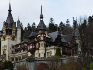 Romania, Sinaia – Peles castle, Apr. 2014