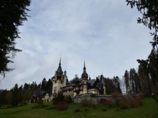Romania, Sinaia – distance, Apr. 2014
