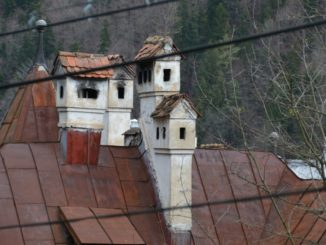 Romania, Sinaia – rooftop, Apr. 2014