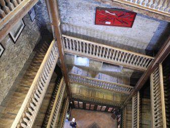ソルフェリーノにあるロッカ塔の内部
