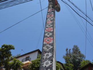 Cerro Bellavista – pattern on the pole, Dec.2015