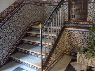 Spain, Toledo – lovely staircase, Mar. 2014