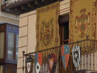 Spain, Toledo – balcony, Mar. 2014