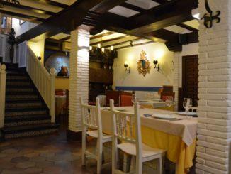 Spain, Toledo – interior of restaurant, Mar. 2014