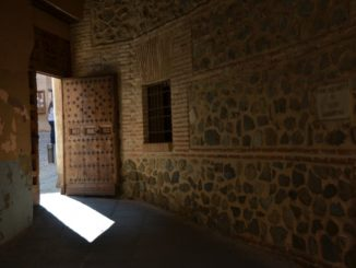 Spain, Toledo – light from doorway, Mar. 2014