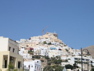 Greece, Syros, Ano Syros – hill, Sept.2013