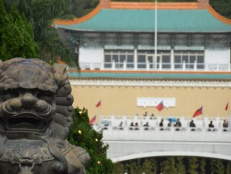 National Palace Museum was seen only from outside