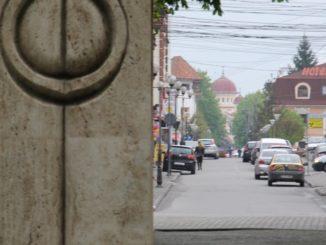 Romania, Taugu Jiu – from the gate, Apr. 2014