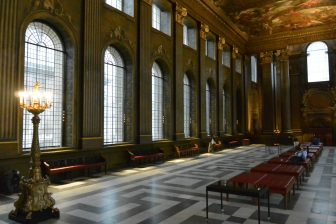England-London-Greenwich-Old Royal Naval College-The Painted Hall