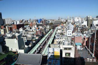 Una strada di Tokyo