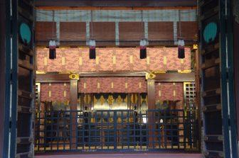 Tokyo – Nezu Shrine, main shrine, Aug.2016