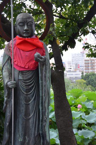 Tokyo – Ueno, Jizo statue, Aug.2016